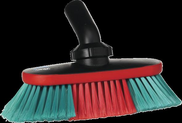 Щетка для автомобиля с подачей воды, 250 мм, Мягкий/ расщепленный, черный цвет