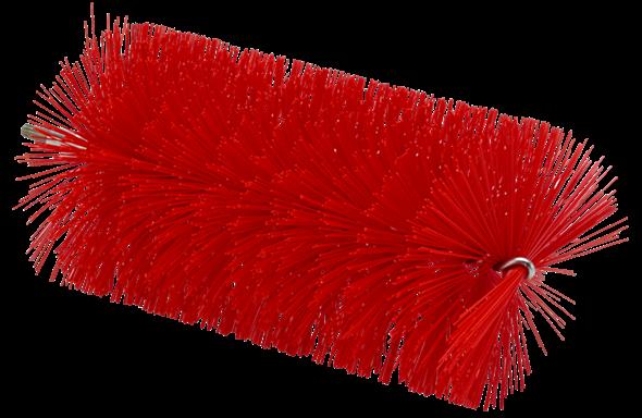 Ерш, используемый с гибкими ручками, Ø90 мм, 200 мм, средний ворс, красный цвет