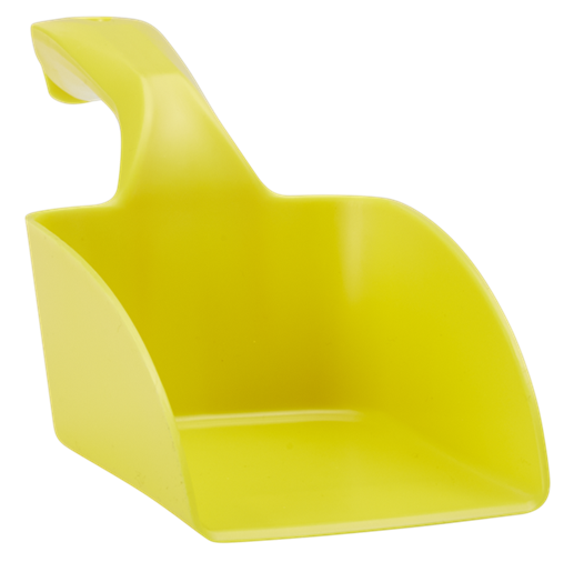 Совок ручной средний, 1 л, желтый цвет
