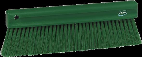 Щетка мягкая для уборки порошкообразных частиц, 300 мм, Мягкий ворс, зеленый цвет