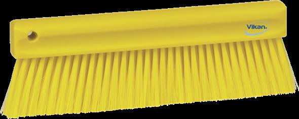 Щетка мягкая для уборки порошкообразных частиц, 300 мм, Мягкий ворс, желтый цвет