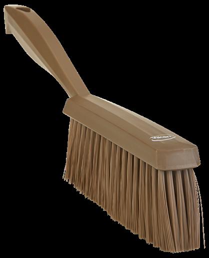 Ручная щетка, 330 мм, Мягкий ворс, коричневый цвет