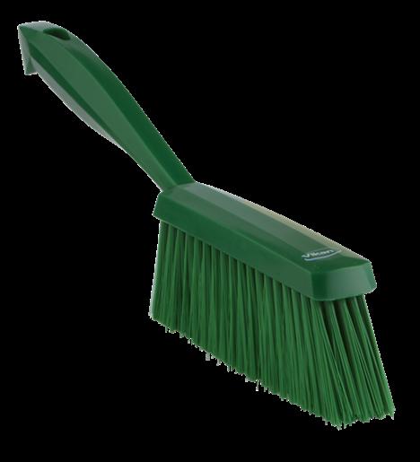 Ручная щетка, 330 мм, средний ворс, зеленый цвет