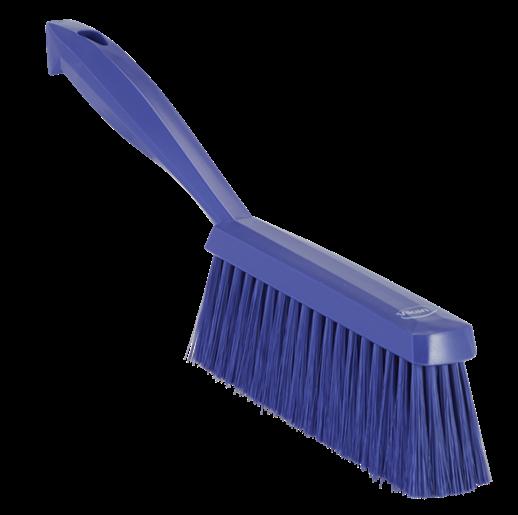 Ручная щетка, 330 мм, средний ворс, фиолетовый цвет