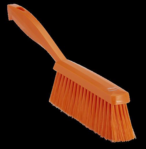Ручная щетка, 330 мм, средний ворс, оранжевый цвет