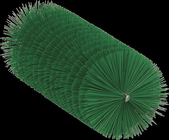 Ерш, используемый с гибкими ручками, Ø60 мм, 200 мм, средний ворс, зеленый цвет
