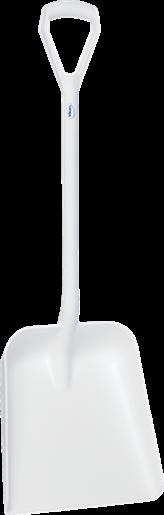 Лопата, 379 x 345 x 90 мм., 1035 мм, белый цвет