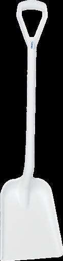 Лопата, 327 x 271 x 50 мм, 1040 мм, белый цвет