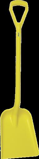 Лопата, 327 x 271 x 50 мм, 1040 мм, желтый цвет