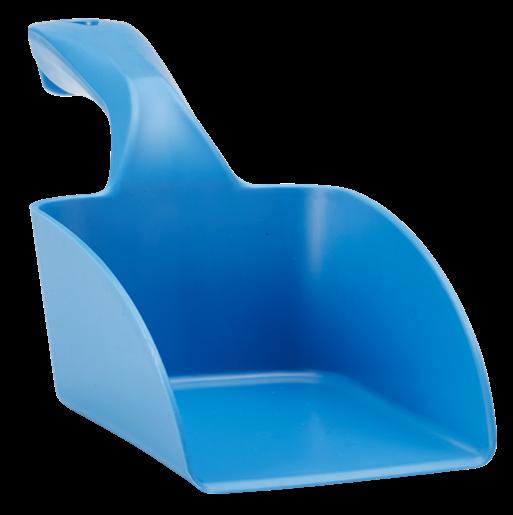 Совок ручной средний, 1 л, синий цвет
