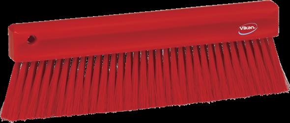 Щетка мягкая для уборки порошкообразных частиц, 300 мм, Мягкий ворс, красный цвет