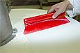Щетка мягкая для уборки порошкообразных частиц, 300 мм, Мягкий ворс, красный цвет, фото 2