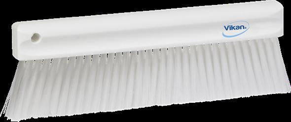 Щетка мягкая для уборки порошкообразных частиц, 300 мм, Мягкий ворс, белый цвет