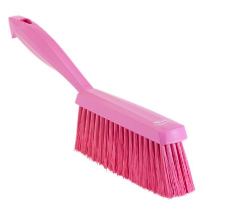 Ручная щетка, 330 мм, Мягкий ворс, Розовый цвет