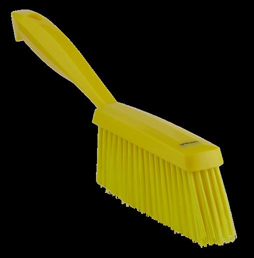 Ручная щетка, 330 мм, средний ворс, желтый цвет
