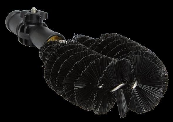 Ерш сантехнический, 275 мм, Жесткий ворс, черный цвет