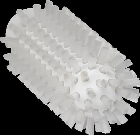 Щетка-ерш для очистки труб, гибкая ручка, диаметр 50 мм, Жесткий ворс, белый цвет