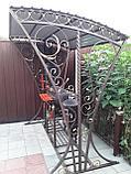 Мангал кованый с навесом для дома!, фото 2