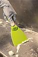 Скребок ручной из полипропилена, 75 мм, зеленый цвет, фото 3