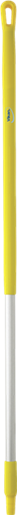 Ручка эргономичная алюминиевая, Ø31 мм, 1310 мм, желтый цвет