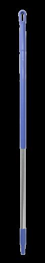 Ручка эргономичная алюминиевая, Ø31 мм, 1310 мм, фиолетовый цвет