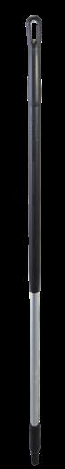 Ручка эргономичная алюминиевая, Ø31 мм, 1310 мм, черный цвет