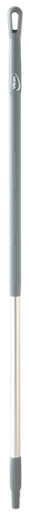 Ручка эргономичная алюминиевая, Ø31 мм, 1310 мм, серый цвет
