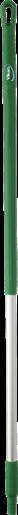 Ручка эргономичная алюминиевая, Ø31 мм, 1510 мм, зеленый цвет