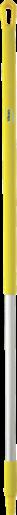 Ручка эргономичная алюминиевая, Ø31 мм, 1510 мм, желтый цвет