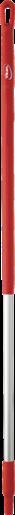 Ручка из нержавеющей стали, Ø31 мм, 1510 мм, красный цвет