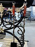 Мангал кованый с навесом для дома!, фото 7