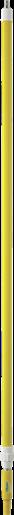 Ручка телескопическая с подачей воды, 1600 - 2780 мм, Ø32 мм, желтый цвет