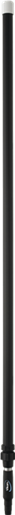 Алюминиевая телескопическая ручка, 1575 - 2780 мм, Ø32 мм, черный цвет