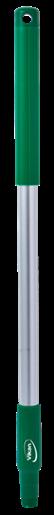 Ручка из алюминия, Ø31 мм, 650 мм, зеленый цвет
