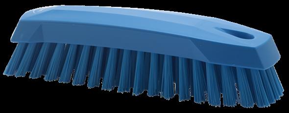 Щетка ручная скребковая, 165 мм, средний ворс, синий цвет