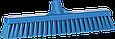 Щетка  для подметания с комбинированным ворсом, 410 мм, Мягкий/жесткий, синий цвет, фото 2