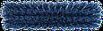 Щетка для подметания сверхпрочная, 330 мм, Очень жесткий, синий цвет, фото 3