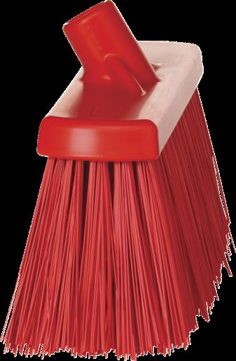 Щетка для подметания сверхпрочная, 330 мм, Очень жесткий, красный цвет