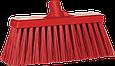 Щетка для подметания сверхпрочная, 330 мм, Очень жесткий, красный цвет, фото 2