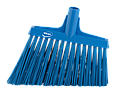 Щетка для подметания с ворсом под углом, 290 мм, Очень жесткий, синий цвет, фото 2