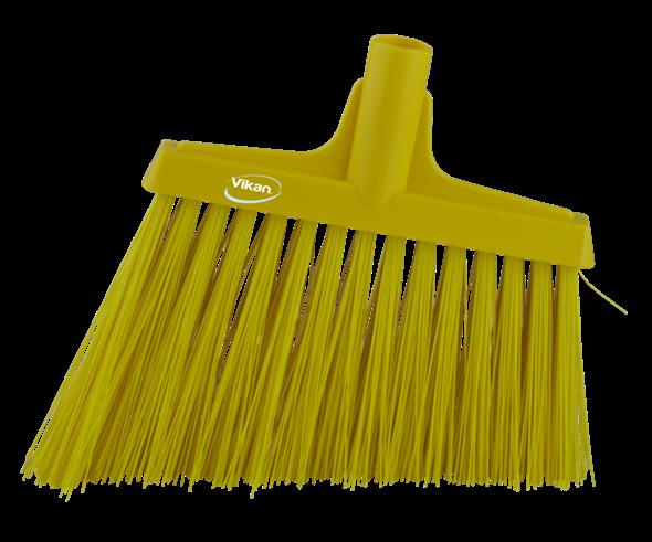 Щетка для подметания с ворсом под углом, 290 мм, Очень жесткий, желтый цвет