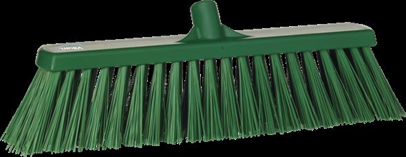 Щетка для подметания сверхпрочная, 530 мм, Очень жесткий, зеленый цвет