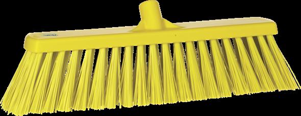 Щетка для подметания сверхпрочная, 530 мм, Очень жесткий, желтый цвет