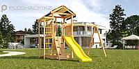 Детская площадка Савушка Мастер 5, игровая башня, шведская стенка, рукоход, турник., фото 1
