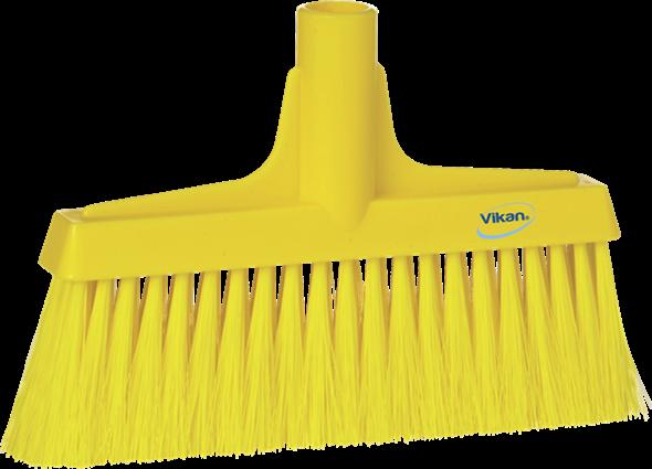 Щетка для подметания мягкая, 260 мм, Мягкий/жесткий ворс, желтый цвет
