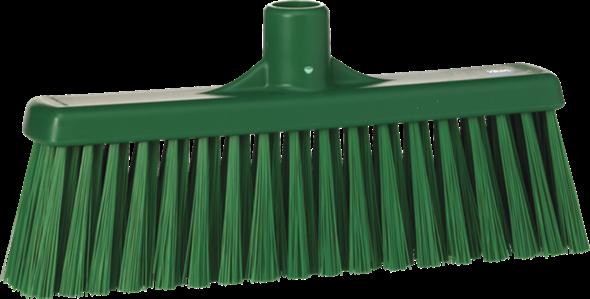 Щетка для подметания с прямой соединительной частью, 310 мм, средний ворс, зеленый цвет
