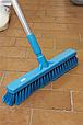 Щетка для подметания, 410 мм, Мягкий/ расщепленный ворс, синий цвет, фото 2