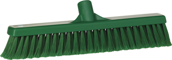 Щетка для подметания, 410 мм, Мягкий/ расщепленный ворс, зеленый цвет
