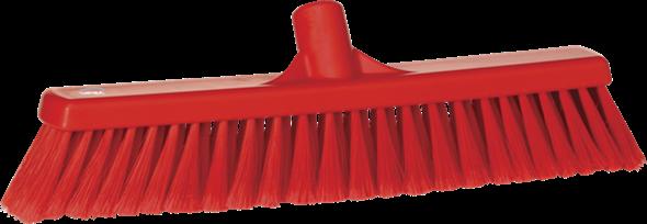 Щетка для подметания, 410 мм, Мягкий/ расщепленный ворс, красный цвет