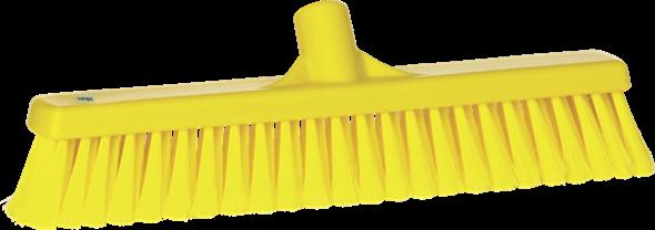 Щетка для подметания, 410 мм, Мягкий/ расщепленный ворс, желтый цвет
